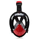ราคาถูก รถจักรยานยนต์ของเล่น-หน้ากากดำน้ำ Full Face Masks หน้าต่างเดียว - การว่ายน้ำ ซิลิโคน - สำหรับ ผู้ใหญ่ ฟ้า / 180 Degree / การรั่วไหลของหลักฐาน / ป้องกันหมอกควัน