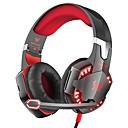 billige Gaming-KOTION EACH G2000 Gaming Headset Med ledning Gaming Med mikrofon Med volumkontroll