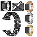 billige Andre telefonsaker-Klokkerem til Apple Watch Series 5/4/3/2/1 Apple Sportsrem Rustfritt stål Håndleddsrem