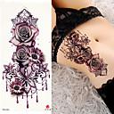 billiga tatuering klistermärken-3 pcs tillfälliga tatueringar Lena klistermärken / Säkerhet skuldra Kortpapper / Dekalstil tillfälliga tatueringar