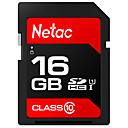 ราคาถูก SDการ์ด-Netac 16GB SD Card การ์ดหน่วยความจำ UHS-I U1 16