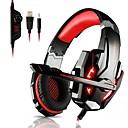 billige Gaming-KOTION EACH G9000 Gaming Headset Med ledning Gaming Med mikrofon Med volumkontroll