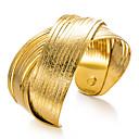 Χαμηλού Κόστους Μοδάτο Βραχιόλι-Γυναικεία Βραχιόλια Χειροπέδες Βραχιόλια Γλυπτό κυρίες Etnic Επιχρυσωμένο Βραχιόλι Κοσμήματα Χρυσό Για Πάρτι Δώρο