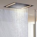 billiga Set med badrumstillbehör-Nutida Regndusch Ti-PVD Särdrag - Regn / Ny Design, Duschhuvud