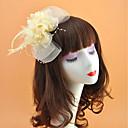 povoljno Party pokrivala za glavu-Perje / Net Headpiece s Perje / Cvijet 1pc Vjenčanje / Special Occasion Glava