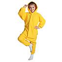 ราคาถูก จิ๊กซอว์3D-สำหรับเด็ก Kigurumi Pajama Pika Pika Onesie Pajama Polar Fleece สีเหลือง คอสเพลย์ สำหรับ เด็กชายและเด็กหญิง สัตว์ชุดนอน การ์ตูน Festival / Holiday เครื่องแต่งกาย