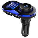 Χαμηλού Κόστους Σετ Bluetooth Αυτοκινήτου/Hands-free-ojadebc28 bluetooth 4.2 bluetooth car kit handsfree ασύρματο fm πομπός αυτοκίνητο mp3 player με 1.4 ιντσών μεγάλη lcd οθόνη υποστήριξη tf κάρτα / u δίσκο