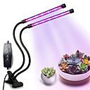ราคาถูก ไฟปลูกพืช-1set 18 W 1500 lm 36 ลูกปัด LED หรี่แสงได้ สำหรับ Hydroponic เรือนกระจก โคมไฟที่กำลังเติบโต แดง น้ำเงิน 5 V เรือนกระจกผัก