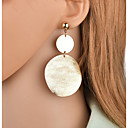 cheap Earrings-Women's Drop Earrings Long Circle Ladies Trendy Romantic Earrings Jewelry Gold / Silver For Club Bar 1 Pair