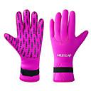 billiga Cykelhandskar-HISEA® Dykning Handskar 3mm NEOPRENE Neopren våtdräkthandskar Håller värmen Anti-Halk Bekväm Simmning Dykning Snorkelfenor / Neoprene / Elastisk
