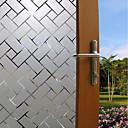 billiga Mural-Fönsterfilm och klistermärken Dekoration Matte / Nutida Geometrisk pvc Fönsterklistermärke / Matt