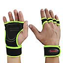 ราคาถูก ชุดออกกำลังกายและชุดโยคะ-ยกน้ำหนักถุงมือ ไมโครไฟเบอร์ Built-In Wrist Wraps สามารถปรับได้ Full Palm Protection & Extra Grip Wearproof ฟิตเนส ยิมออกกำลังกาย ออกไปทำงาน สำหรับ สำหรับผู้ชาย สำหรับผู้หญิง ข้อมือ