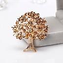 povoljno Nakit za vjenčanje i izlaske-Žene Broševi Sa stilom Stablo života Europska Moda Broš Jewelry Braon Crvena Za Dar Dnevno
