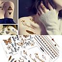 Χαμηλού Κόστους Σκιές Ματιών-5 pcs Αυτοκόλλητα Τατουάζ προσωρινή Τατουάζ Βοημίας Θέμα / Πεταλούδα Διακοσμητικό Τέχνες σώμα Σώμα / μπράτσο / Τατουάζ αυτοκόλλητο