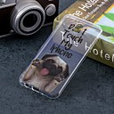 זול אירגוניות לרכב-מגן עבור Samsung Galaxy J7 (2017) / J5 (2017) / J5 (2016) IMD / תבנית כיסוי אחורי כלב רך TPU