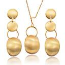 Χαμηλού Κόστους Ρούχα τρεξίματος-Γυναικεία Κρίκοι Κρεμαστά Κολιέ κυρίες Μποέμ Μοντέρνα Σκουλαρίκια Κοσμήματα Χρυσό Για Πάρτι Δώρο