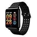 olcso Okosórák-m19 intelligens watch bt fitness tracker támogatás értesítés és pulzusmérő kompatibilis samsung / huawei android telefonok és iphone