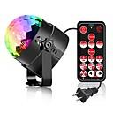 povoljno Svjetlima pozornice-YouOKLight 1pc 6 W 4 LED zrnca Daljinsko upravljanje LED svjetlima pozornice RGB 85-265 V Za dom / ured