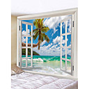 billige Wall Tapestries-Nyhet / Ferie Veggdekor polyester Klassisk Veggkunst, Veggtepper Dekorasjon