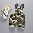 billige BabyGuttbukser-Baby Gutt Grunnleggende Trykt mønster Kjeledress og jumpsuit Militærgrønn