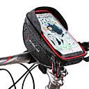 povoljno Torbice za okvir-Wheel up Mobitel Bag Bike Volan Bag 6 inch Touch Screen Zamišljen Biciklizam za Biciklizam iPhone X iPhone XR Red Crn Mountain Bike Cestovni bicikl / iPhone XS / iPhone XS Max