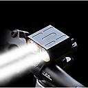 baratos Luzes & Lanternas de Acampamento-LED duplo Luzes de Bicicleta Luz Frontal para Bicicleta Farol para Bicicleta LED Moto Ciclismo Impermeável Múltiplos Modos Super brilhante Portátil Bateria Li-on Recarregável 1600 lm Baterias