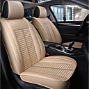 billige Setetrekk til bilen-5 seter beige firesesonger bilstol full deksel for fem seter bil / pu skinnmateriale / kollisjonspute kompatibilitet / justerbar og avtakbar / familiebil / suv