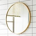 billige Vegglamper-Speil Speil Moderne / Nutidig Herdet glass / Metall 1pc - Speil Baderomsdekorasjon
