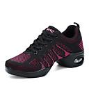 ราคาถูก รองเท้าแตะ & Flip-Flops ผู้ชาย-สำหรับผู้หญิง รองเท้าเต้นรำ ตารางไขว้ รองเท้าผ้าใบสำหรับเต้นรำ ลายจุด รองเท้าผ้าใบ ส้นแบน สีดำ / สีบานเย็น / Pink / Black / Performance