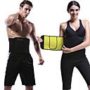 billiga Sportstöd-Body Shaper Träningskorsett Bastubälte neopren Stretch Ingen dragkedja Viktminskning Slimming Body Sculptor Tummy Fat Burner Motion & Fitness bodybuilding För Midja och baksida Abdomen