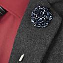 povoljno Značke i broševi-Žene Tanzanite Broševi Perlice Cvijet Jednostavan Broš Jewelry Zlato / plava Ezüst-kék Crno / plavi Za Vjenčanje