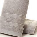 ราคาถูก ผ้าขนหนู-คุณภาพเยี่ยม ซักผ้าขนหนู, สีพื้น 100% เยื้อไผ่ ห้องน้ำ 1 pcs