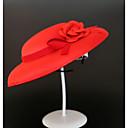 Χαμηλού Κόστους Καπέλα και Διακοσμητικά-Μείγμα Λινό / Πολυέστερ / Μάλλινα μαλλιά Καλύμματα Κεφαλής / Μαντήλι με Φιόγκος / Σκουφί 1pc Γάμου / Ειδική Περίσταση Headpiece