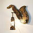 billige Blondeparykker med menneskehår-Vintage Vegglamper Stue Tre / Bambus Vegglampe 220-240V 40 W