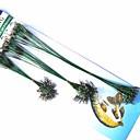ราคาถูก เหยื่อตกปลา-72 pcs สายเบ็ด ตกปลา Snaps และหมุน เหล็กกล้าไร้สนิม Steel Wire ติดตั้งง่าย เบาและสะดวก ใช้งานง่าย ตกปลาทะเล เบทคาสติ้ง การตกปลาคารฺ์พ เหยื่อตกปลา / การตกปลาทั่วไป / รอก & ตกปลาบนเรือ