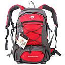 זול הנעלה ואביזרים-Jungle King 35 L תיקי גב עמיד למים נושם ללבוש התנגדות חיצוני צעידה טיפוס סקי ניילון אדום ירוק כחול