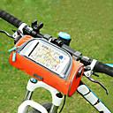 billiga Tvättställsblandare-Mobilväska Väska till cykelstyret 6 tum Pekskärm Cykelsport för Cykling iPhone X iPhone XR Orange Rodnande Rosa Militärgrön / iPhone XS / iPhone XS Max