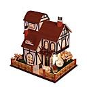 ราคาถูก บ้านตุ๊กตา-Dukkehus น่ารัก DIY ประณีต Romance เฟอร์นิเจอร์ ทำด้วยไม้ ร่วมสมัย สำหรับเด็ก ผู้ใหญ่ เด็กผู้หญิง Toy ของขวัญ