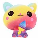 Χαμηλού Κόστους Παιχνίδια που Διώχνουν το Στρες-Ζουληχτά παιχνίδια Κατά του στρες Γάτα Δημιουργικό Χαριτωμένο Στρες και το άγχος Αρωγής Squishy Poron 1 pcs Παιδιά Ενηλίκων Όλα Αγορίστικα Κοριτσίστικα Παιχνίδια Δώρο
