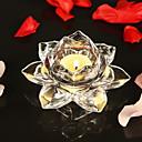 זול חפצים דקורטיביים-מודרני / עכשווי זכוכית פמוטים Candelabra 1pc, מחזיק נר / נרות