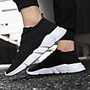 ราคาถูก รองเท้ากีฬาสำหรับผู้ชาย-สำหรับผู้ชาย รองเท้าสบาย ๆ ตารางไขว้ ฤดูร้อนฤดูใบไม้ผลิ Sporty รองเท้ากีฬา วสำหรับเดิน ระบายอากาศ สีดำ / สีเทา / แดง / EU42