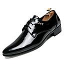ราคาถูก รองเท้าOxfordสำหรับผู้ชาย-สำหรับผู้ชาย รองเท้าสบาย ๆ หนังเทียม / PU ตก รองเท้า Oxfords สีดำ