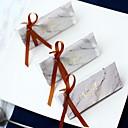 billiga Festprodukter-Triangel Kortpapper Favörhållare med Band Favör askar - 12st