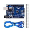 billiga LED-infällda lampor-förbättrad version uno R3 ATMEGA328P styrelse för Arduino-kompatibel