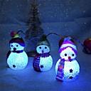 povoljno Prekrivači za auto-sjedala-2pc božićni ukras mijenjaju boju vodio snjegović Nova godina ukrasi raspoloženje lampa Božićni drvo party dekor