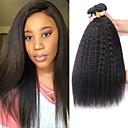 povoljno Ekstenzije od ljudske kose-4 paketića Peruanska kosa Yaki Straight Ljudska kosa Ljudske kose plete Bundle kose Ekstenzije od ljudske kose 8-28 inch Prirodna boja Isprepliće ljudske kose proširenje Najbolja kvaliteta Proširenja