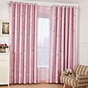 billiga Mörkläggningsgardiner-blackout gardiner draperier två paneler barnrum tecknade polyester polyester
