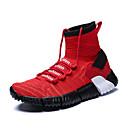 Χαμηλού Κόστους Αντρικά Αθλητικά Παπούτσια-Ανδρικά Παπούτσια άνεσης Φουσκωτό πηνίο Ανοιξη καλοκαίρι Αθλητικό Αθλητικά Παπούτσια Μπάσκετ Αναπνέει Λευκό / Μαύρο / Κόκκινο