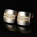 Χαμηλού Κόστους Μανικετόκουμπα Ανδρικά-Butoni Κλασσικό Ευρωπαϊκό Κράμα Καρφίτσα Κοσμήματα Χρυσαφί Για Δώρο Καθημερινά