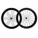 ราคาถูก ล้อจักรยาน-NEASTY 700CC ชุดล้อ จักรยาน 23 mm / 25 mm ถนน คาร์บอน / คาร์บอนไฟเบอร์ ยางงัด 18/21 Spokes 50 mm